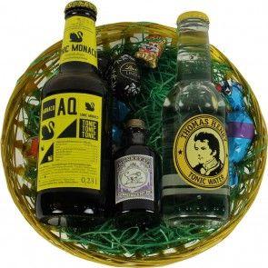 Osterkorb Gin Tonic - Ostern kann kommen mit diesem passenden Geschenk für Ginfans!