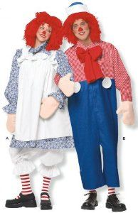 Raggedy Andy Adult Costume  sc 1 st  Pinterest & Raggedy Andy Adult Costume | Crazy funny and /or awesome Halloween ...