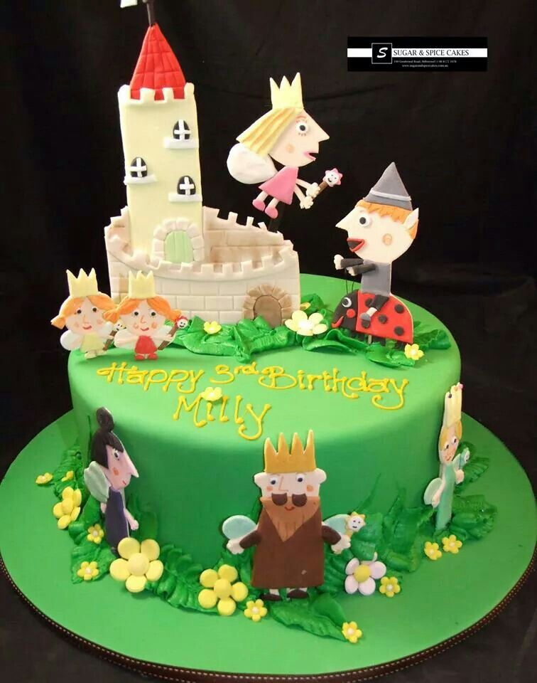Ben And Holly S Little Kingdom Cake With Images Childrens
