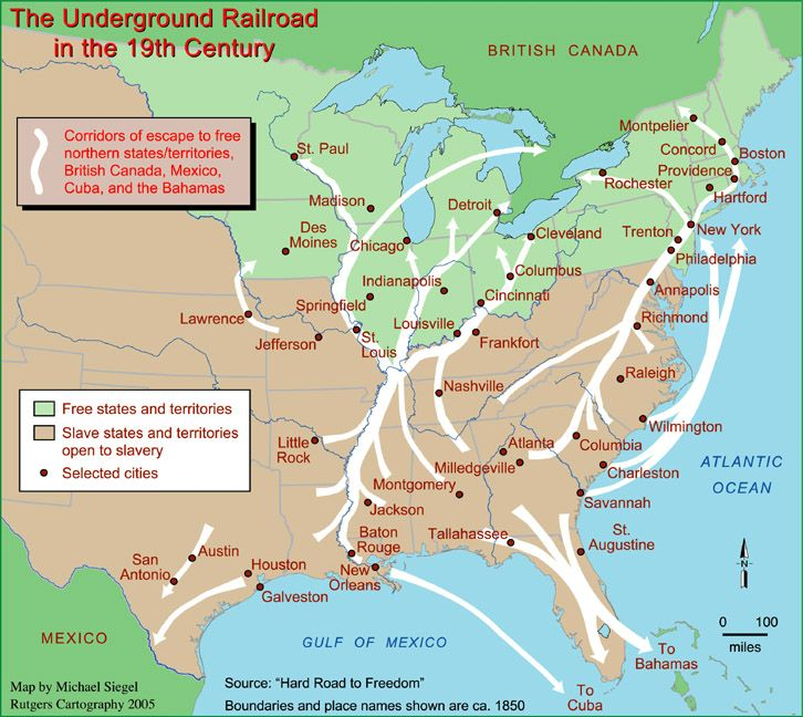 Underground RR In Color FIAR Vol Pinterest Social - Atlanta t montgomery rail on map of us