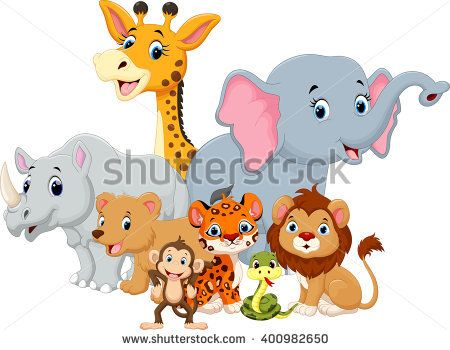 Jungle Baby Shower Clip Art Http Autoaddicts Net Adorable Baby Safari Jungle Animals Clip Art S Baby Jungle Animals Cute Animals Animals Wild