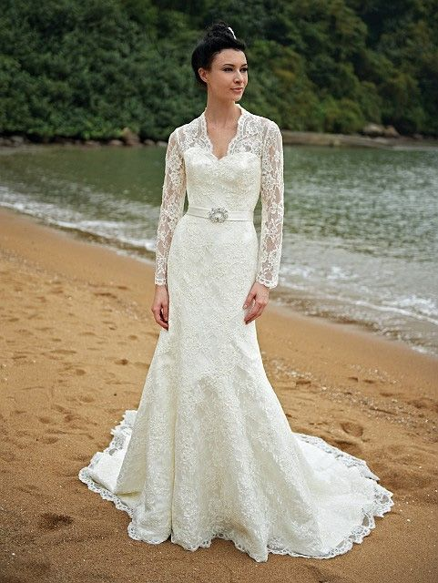 Modest wedding dress for a traditional christian wedding - by ...