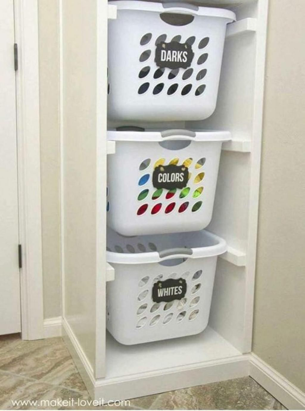 15 astuces ingénieuses pour organiser la salle de lavage pour qu'elle soit vraiment pratique! #décorationmaison