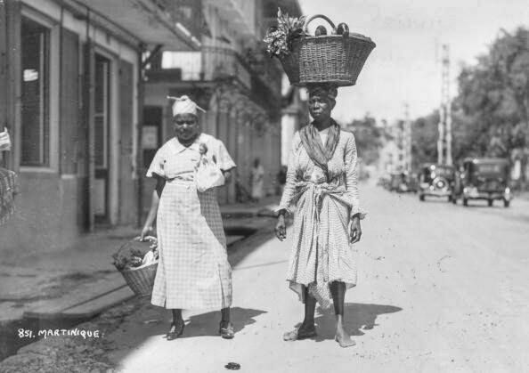 Fort de France vers 1925. – à Martinique.