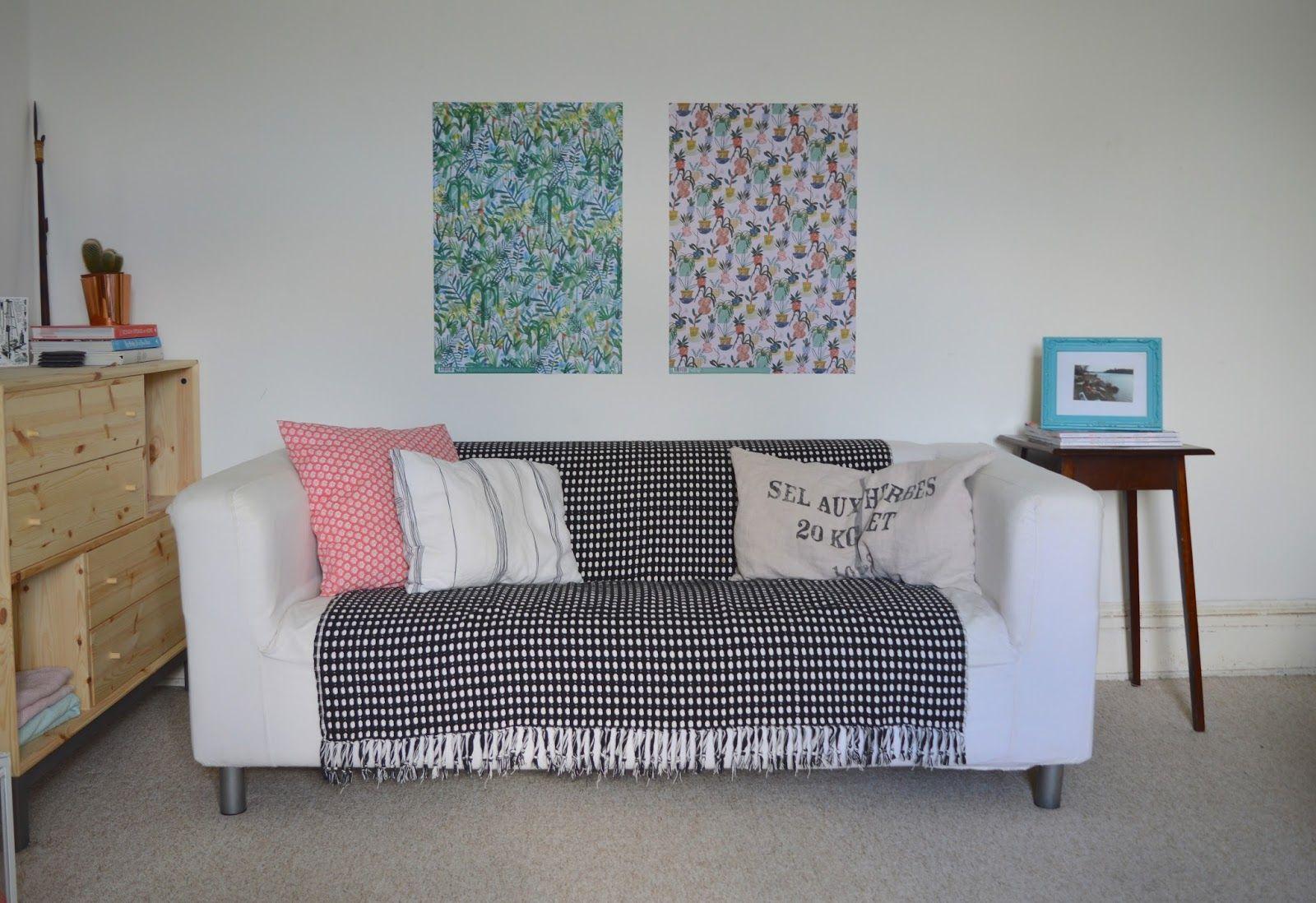 3 Steps To Update An Old Sofa Klippan Sofa Wohnen Zimmer Wohnideen