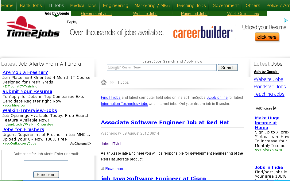 How To Get Job In It Sector In India