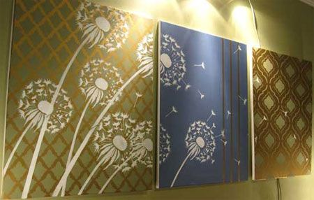 Make your own wall art for less, now thats an idea.   DIY & Crafts ...