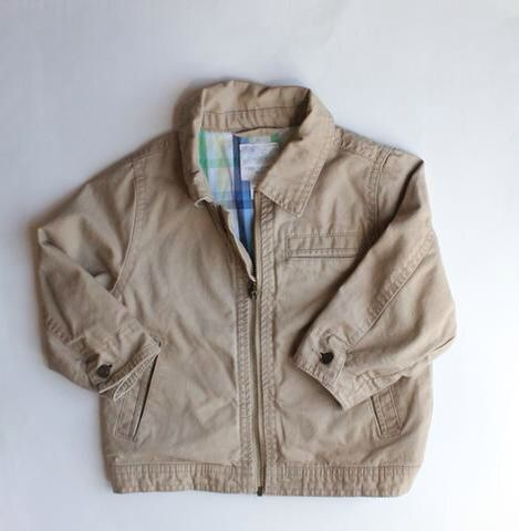 Steve And Barry S Baby Boy Chino Canvas Jacket Size 24 Months