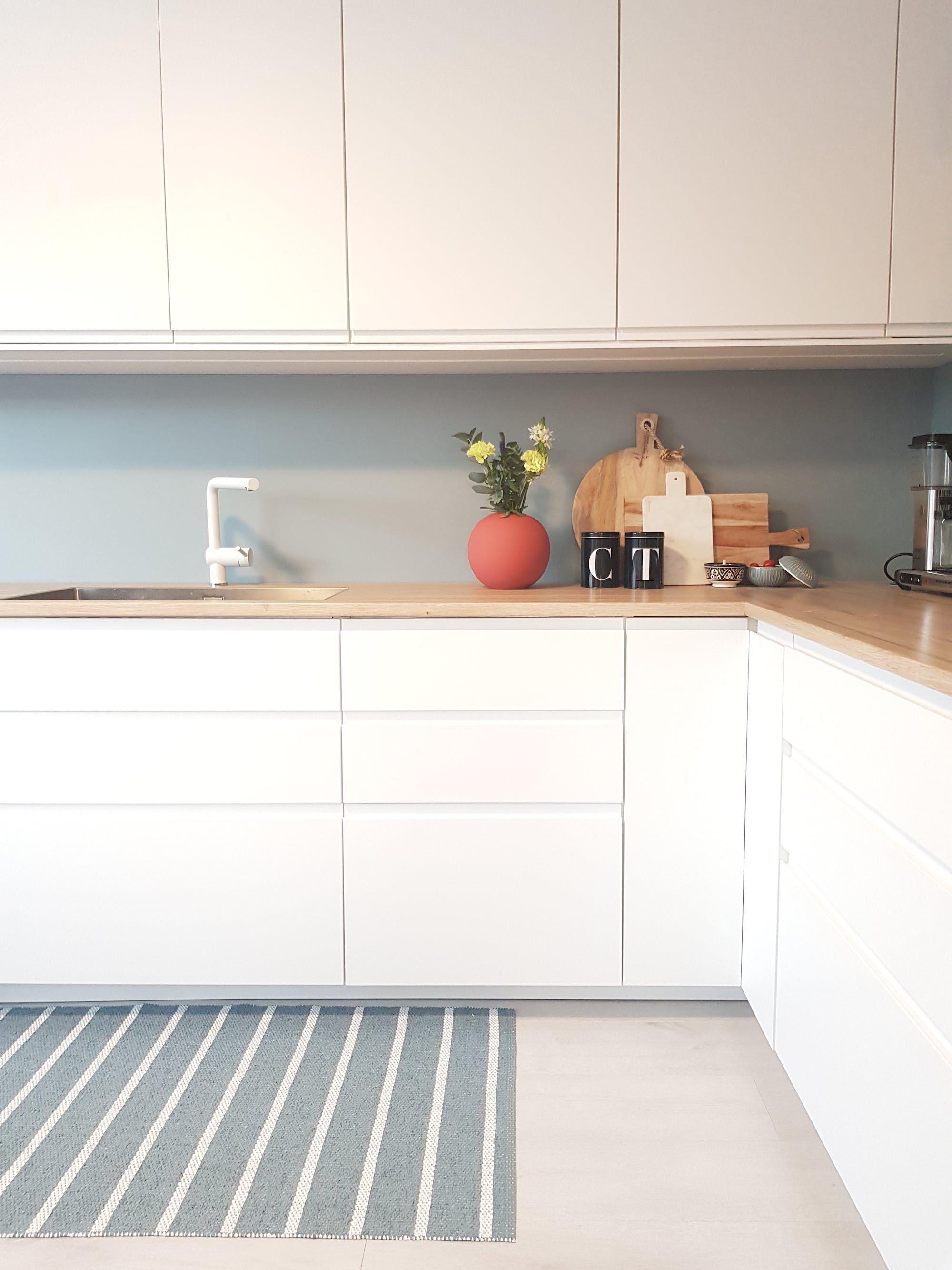 Scandinavian warm and cool tones kitchen inspiration also combining in this nordic home design rh pinterest