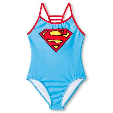 f5e65af9d1 Supergirl swimsuit from Target