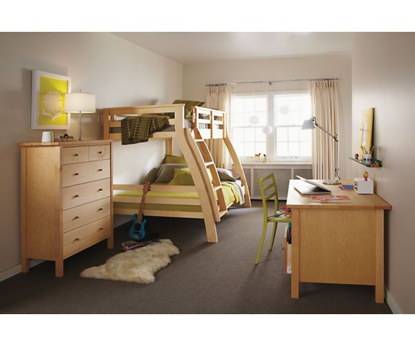 Riley Duo Bunk Bed Bunks Amp Lofts Kids Room Amp Board