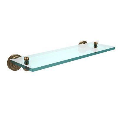 Allied Brass Dottingham Bathroom Shelf Size 16\