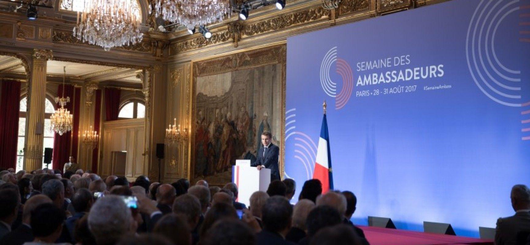 Selon Emmanuel Macron, le temps de la