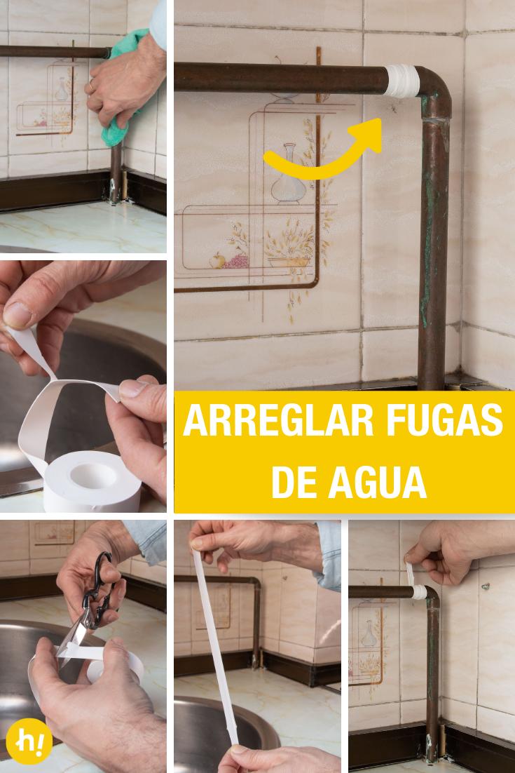 Cómo Arreglar Una Fuga De Agua Llave De Paso Reparacion Y Mantenimiento Reparación