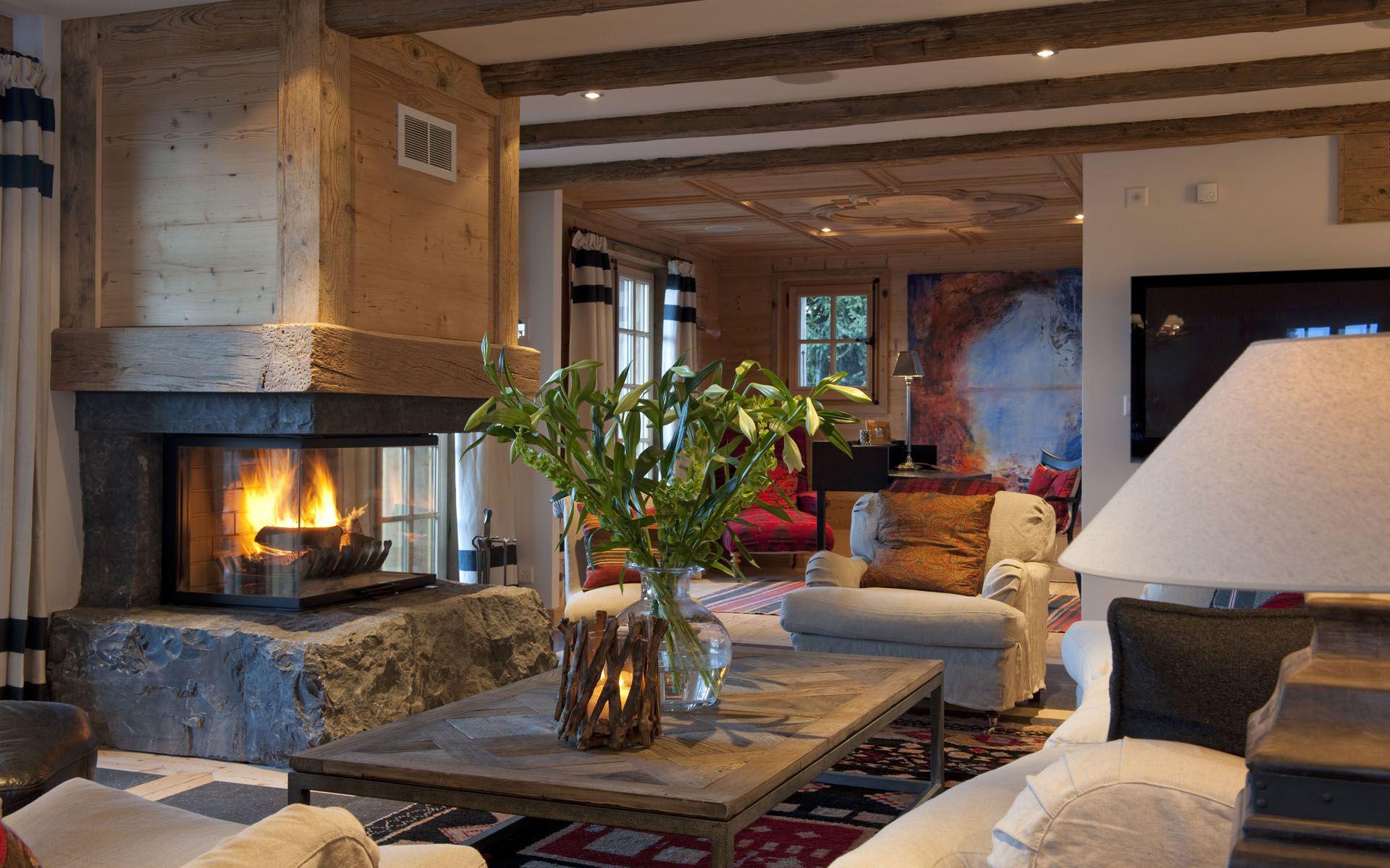 Luxury ski chalet chalet jasmine verbier switzerland