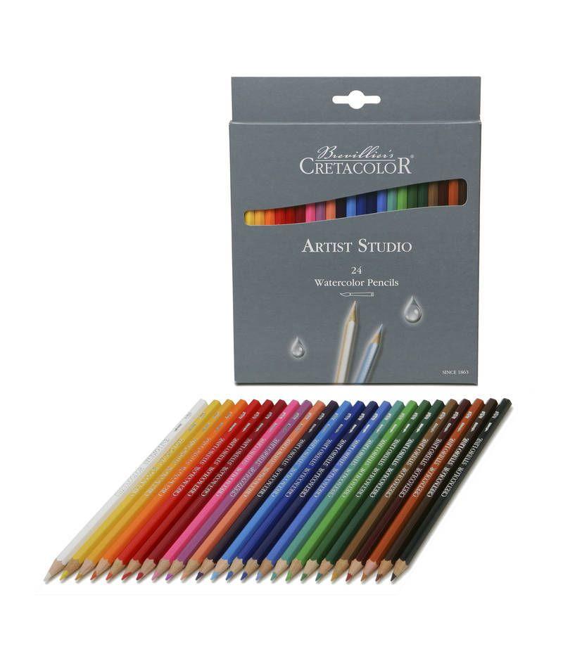 Cretacolor Artist Watercolour Pencil 24pc In 2020 Watercolor