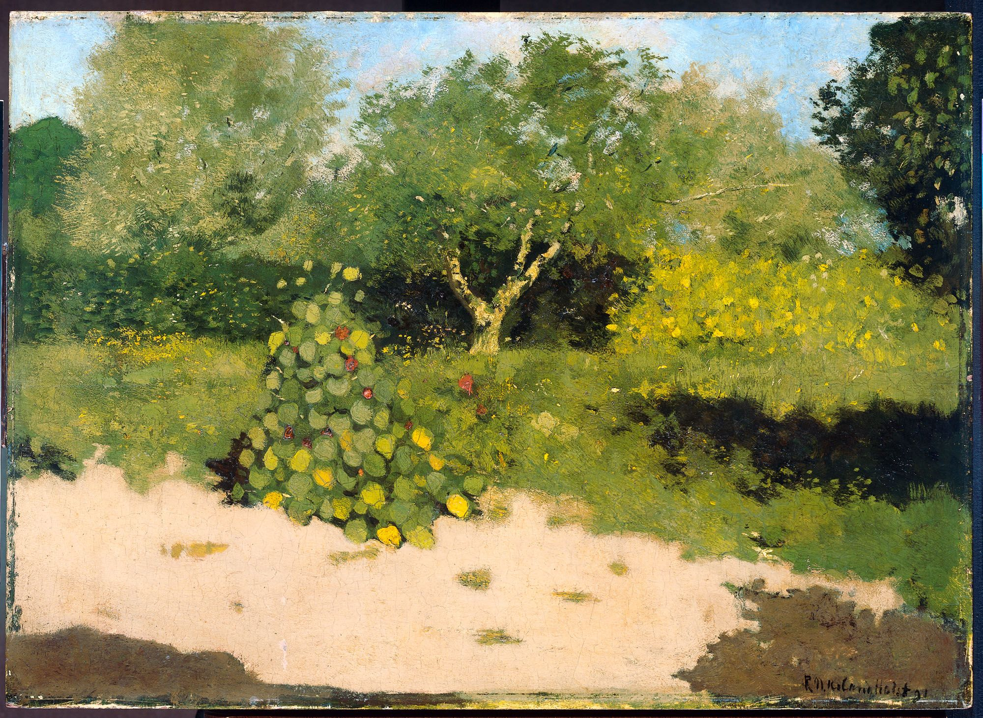 Richard Nicolaas Roland Holst | Trees in art (oil, watercolor, color ...