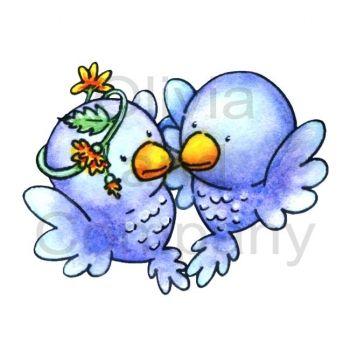 Bluebird Kisses