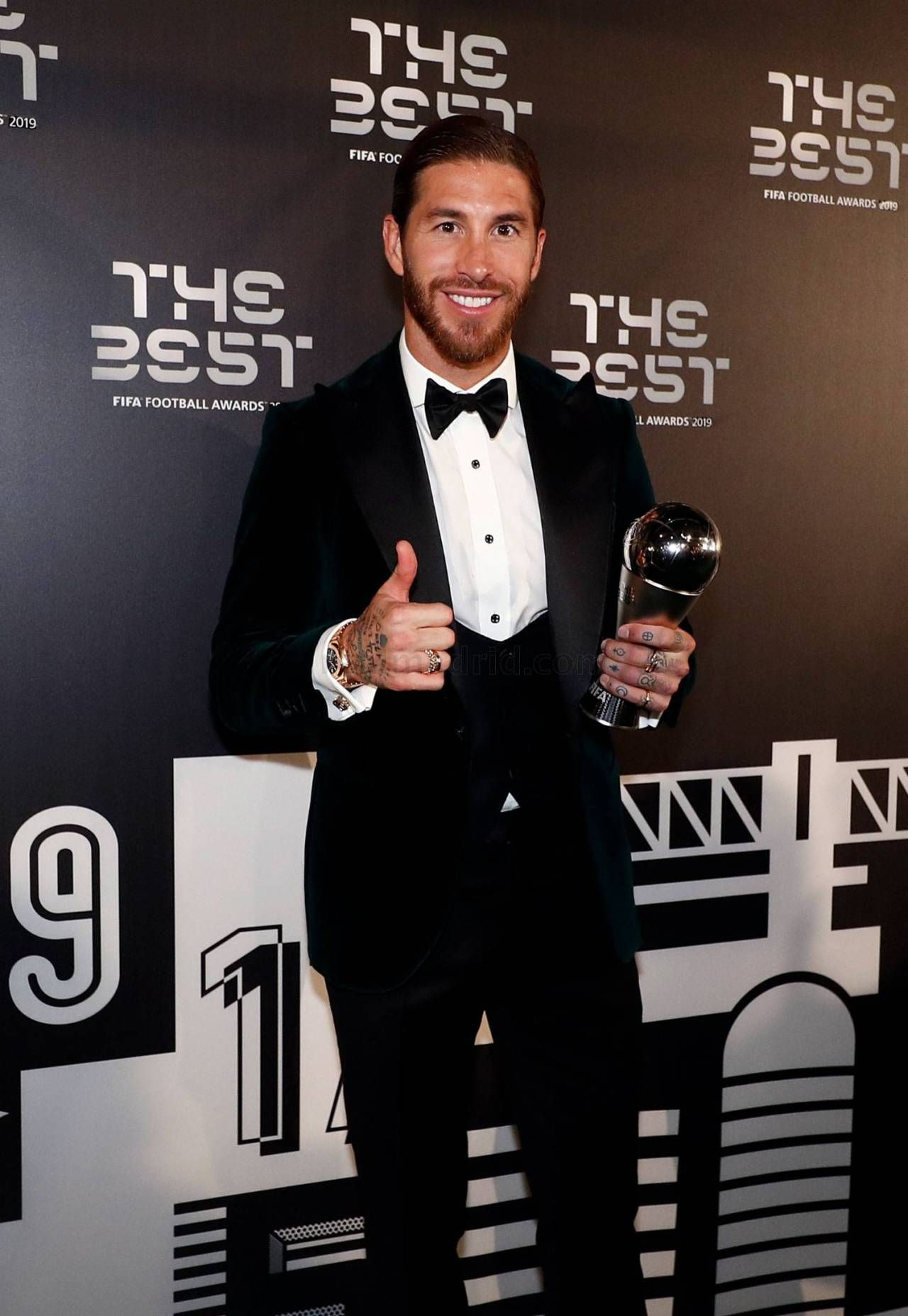 Sergio Ramos ️ — The Best FIFA Football Awards 2019