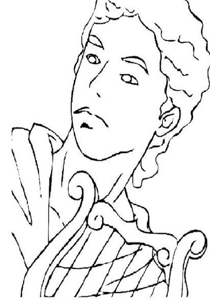 Gods Kids Coloring Pages and Free Goddess Goddesses Colouring Pictures