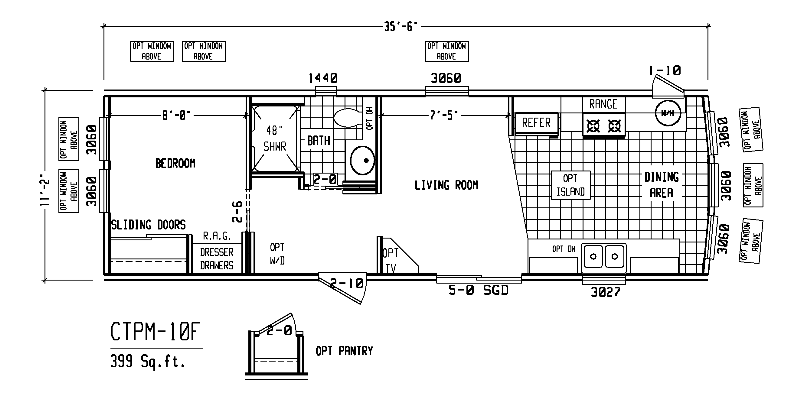 One Bedroom Mobile Home Plans One Free Printable Images House