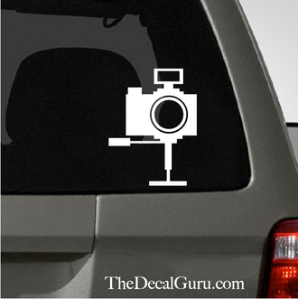 Point And Shoot Camera Car Decal Vinyl Pinterest Car Decal - Cars decal maker online