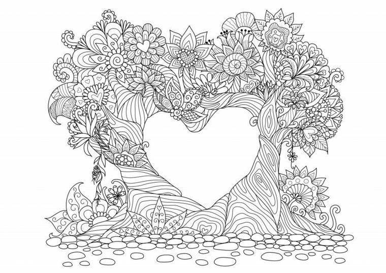 Favorito ▷ 1001 + Idee per Mandala da colorare con simbologia (con XS01