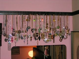 Annimal House: How's yours hangin'? DIY necklace hangers