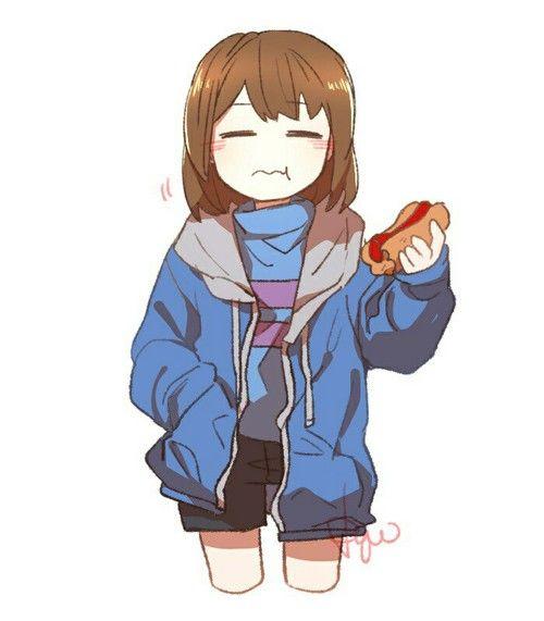 Undertale Frisk Sans Personagens De Anime Chibi Frisk Anime