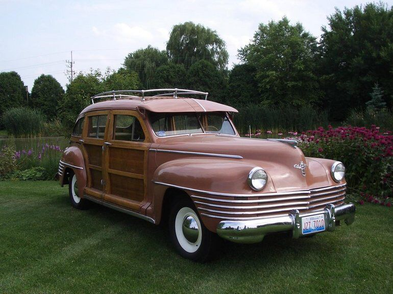 1942 Chrysler Town Country Windsor Vintage Cars Chrysler Vintage Trucks