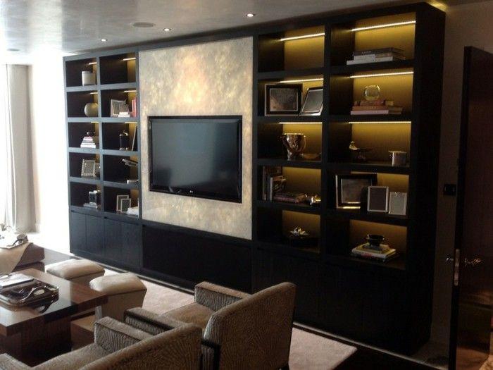 Buecherregal Wohnzimmer Regalsystem Luxus Wohnung Led Beleuchtung Bucherregal Ideen Bucherregal Bucherregal Beleuchtung
