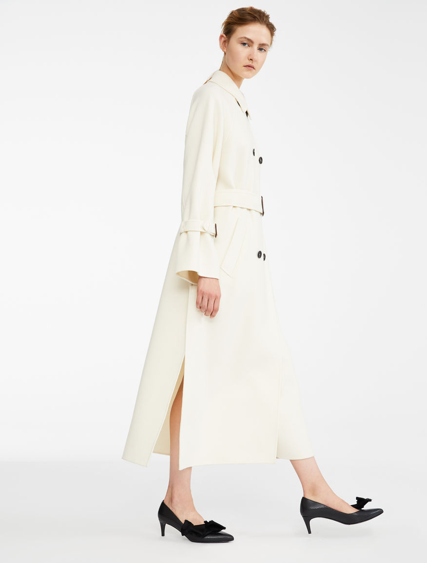 Wool Blend Coat Weekend Maxmara Wool Blend Jacket Coat Wool Blend [ 1154 x 876 Pixel ]