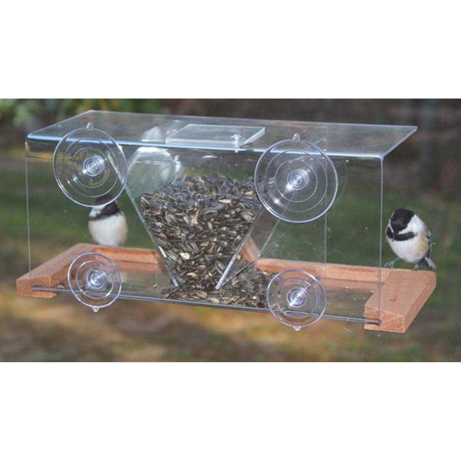 Songbird Essentials Window Feeder 8 Window bird feeder