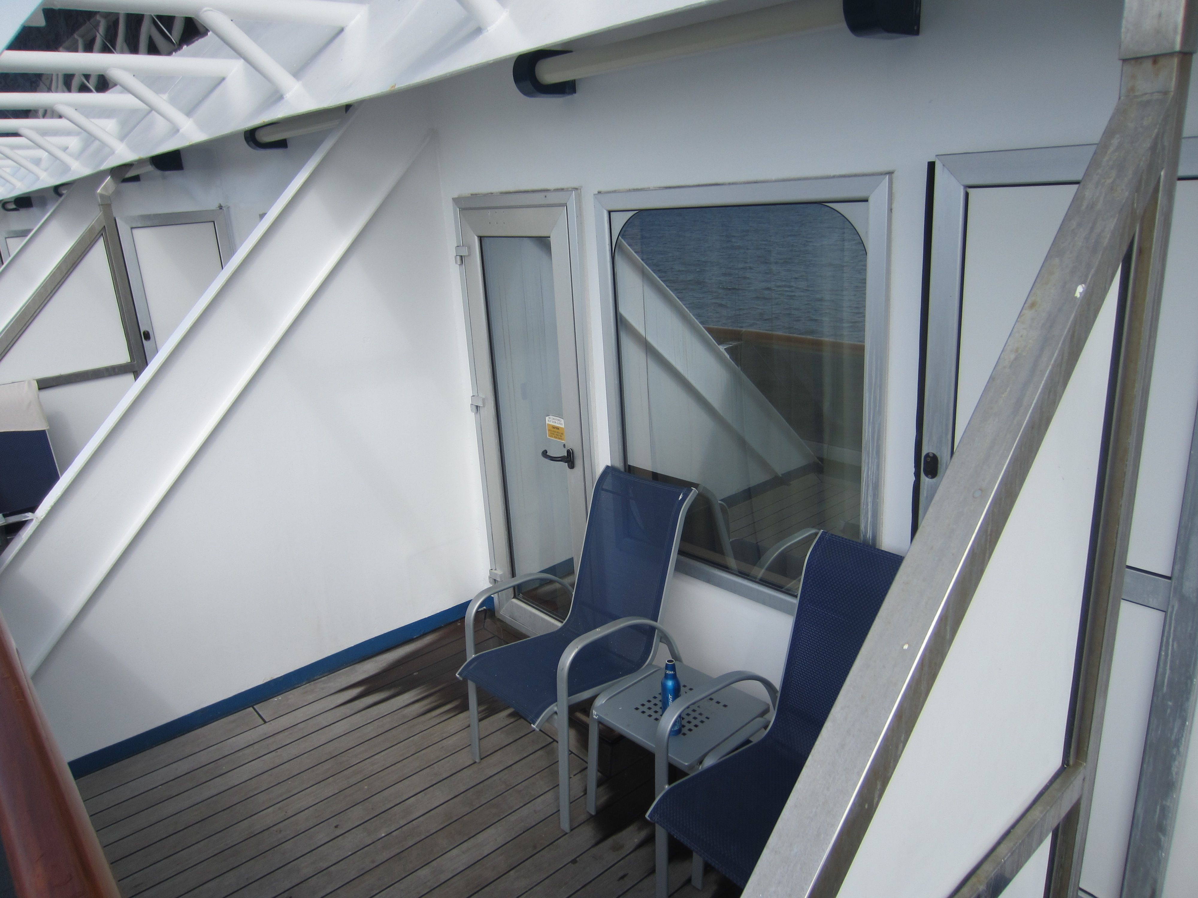 Aft Balcony With Door Open Between The Two Carnival Glory Aft - What is aft on a cruise ship