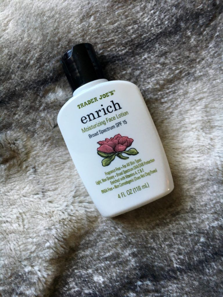Trader Joe's Enrich Moisturizing Face Lotion Review