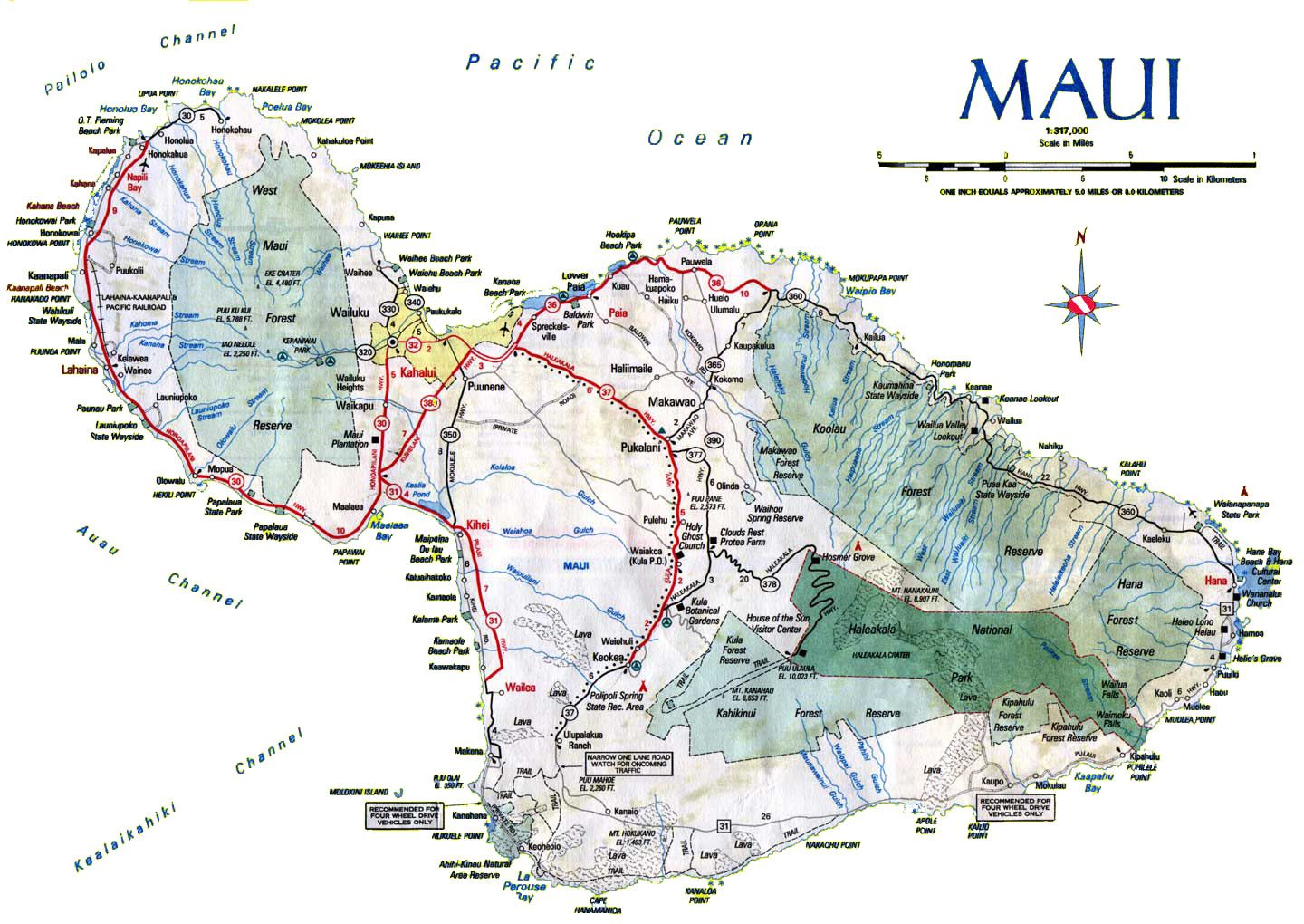 graphic about Printable Map of Maui named map maui - Yahoo Picture Seem Good results H within just 2019 Holiday vacation towards