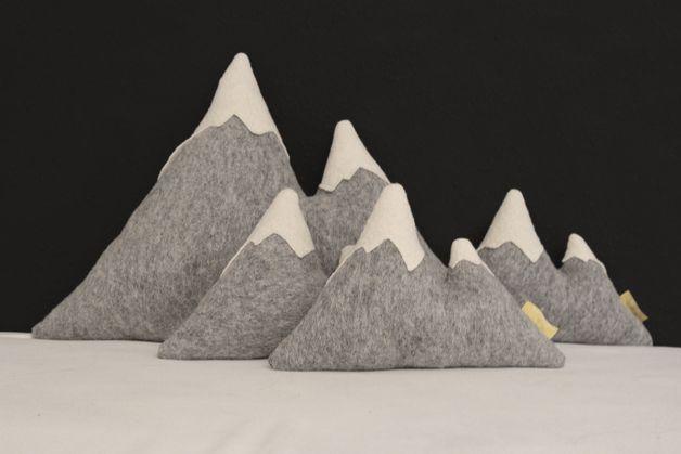 Kissen berge to go bayern kissen deko und n hen - Alpen dekoration ...