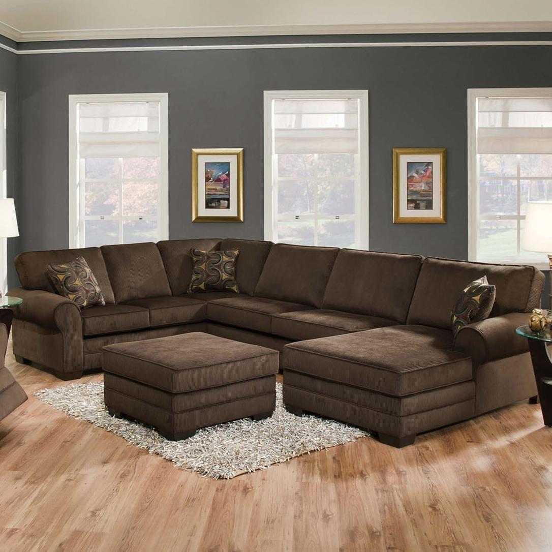 Beau 3 Sided Sectional Sofa