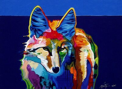 coyote painting - Buscar con Google