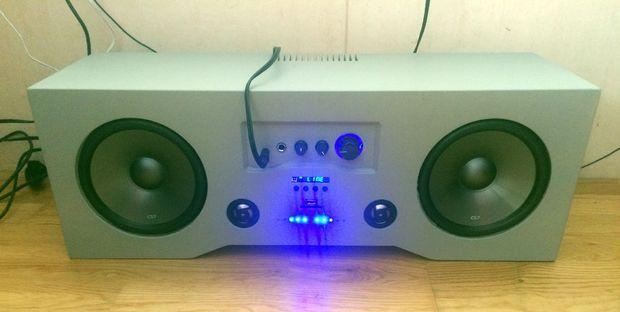 Diy Bluetooth Boombox Upgraded Audio Boombox