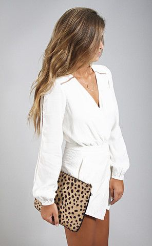 0aea8aec1acf lovers + friends  radiance romper - ivory--Get 15% off + Free ...