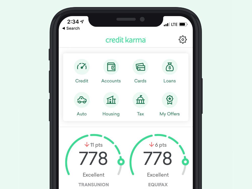 Image result for credit karma mobile app