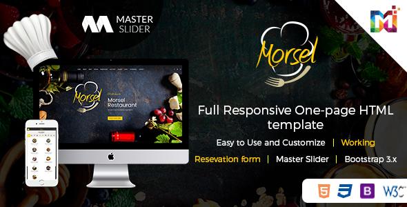 Morsel - Restaurant Lounge Cafe HTML5 Responsive Template (Restaurants & Cafes) - http://wpskull.com/morsel-restaurant-lounge-cafe-html5-responsive-template-restaurants-cafes/wordpress-offers