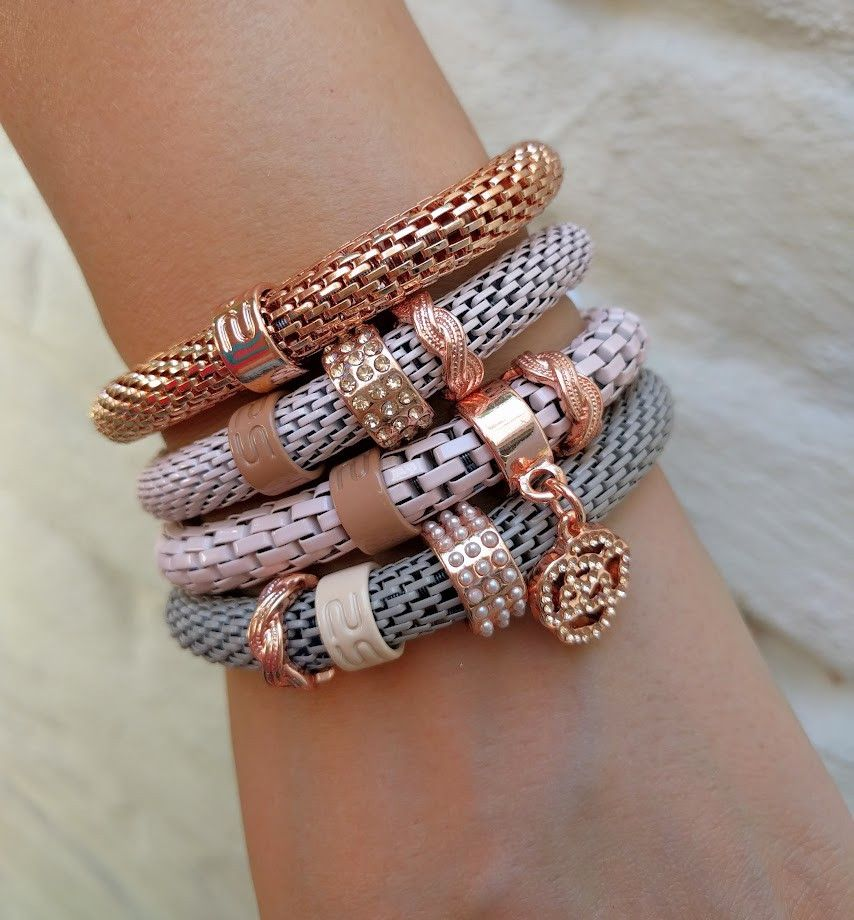 Silis - The Snake Metal Pink Gold - Luxedy - 3
