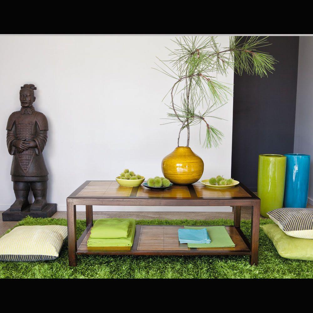 statue guerrier de xian en fibre d 39 argile marron h 124 cm maisons du monde exotique. Black Bedroom Furniture Sets. Home Design Ideas
