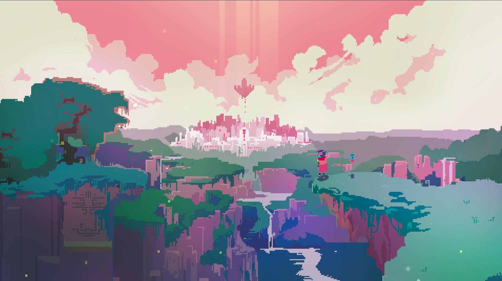 Independent In Pixels Pixel Art Background Pixel Art Landscape Desktop Wallpaper Art