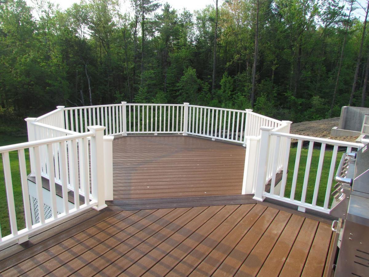 Decks Albany Ny Schenectady Ny Capital District Sunrooms Decks Sunrooms And Decks Deck Hot Tub Backyard