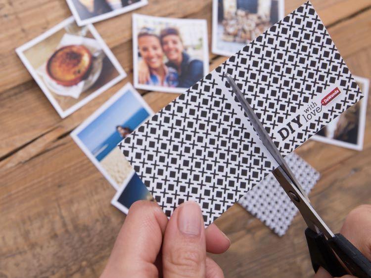 Diy anleitung individuelles foto memory basteln via ein bisschen arbeit - Memory selber machen ...