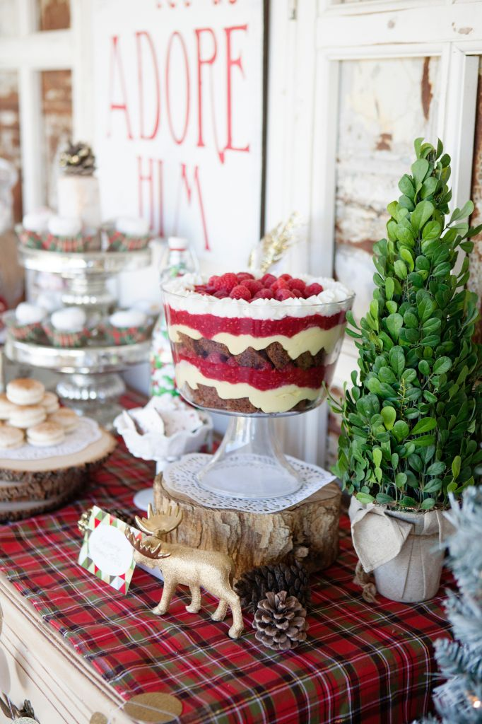 Beautiful Classy Christmas Party Ideas Part - 10: Modern Vintage Christmas Themed Party Ideas, So Pretty! Lots Of Christmas  Decor Ideas!