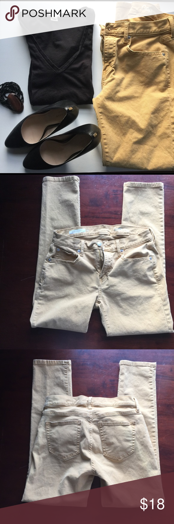 """GAP 1969 Kick Boot Pants Measurements: Rise-9"""" Inseam- 26.5"""" Waist- 26"""". 🚭All items from a smoke free home. 👆🏼Items is as described, feel free to ask questions. 📦I am a super fast shipper. 🛍 Save with a bundle. 😍Like this item? Check out my closet! 💞Thanks for looking! GAP Pants"""